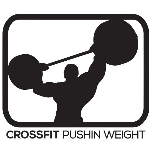 crossfit pushin weight sponsor